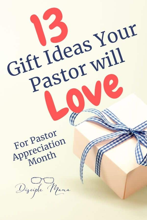 13 Gift Ideas For Pastor Reciation