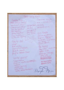 core values family list | Disciple Mama