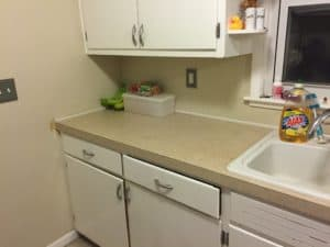 organize kitchen counters diligently