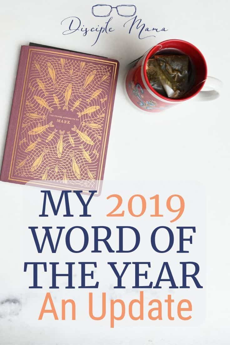 Word of the Year Update 2019 | Disciple Mama