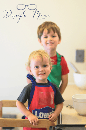 Cooking with preschoolers | Disciple Mama
